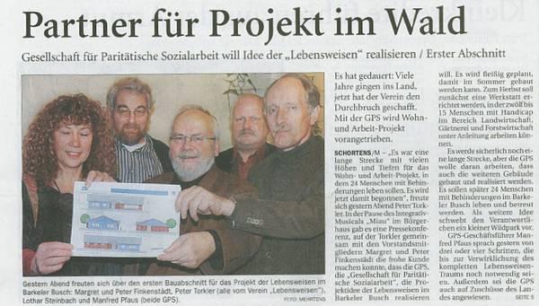 Barkel & das Projekt